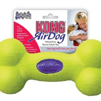 Kong Air Dog Squeaker Bone Tennis Toy