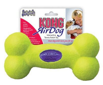 Kong Air Dog Squeaker Bone Tennis Toy