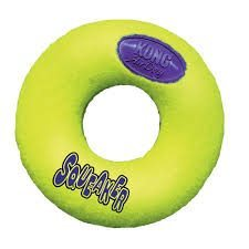 Kong Air Dog Squeaker Donut Tennis Toy