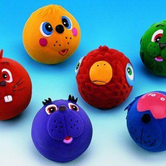 Latex Squeaky Dog Ball