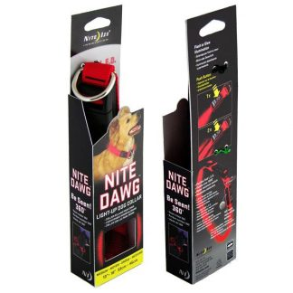 Nite Dawg Light-Up LED Dog Collar