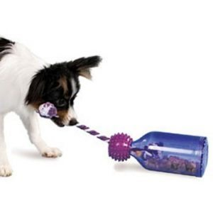 Busy Buddy Tug-a-Jug is suitable for dogs of all shapes and sizes.