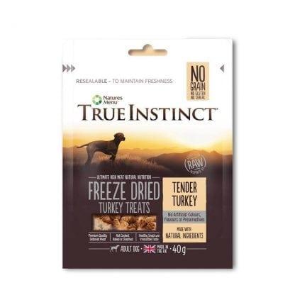 Nature's Menu True Instinct Turkey Dog Treats